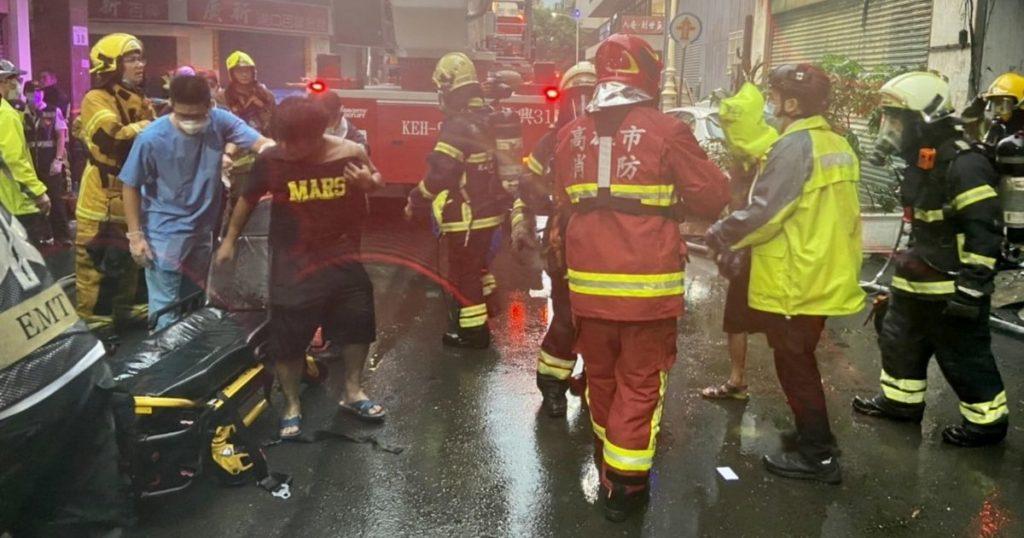 Incendio in un grattacielo a Taiwan, almeno 46 morti