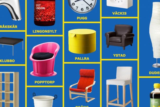 Cosa vogliono dire i nomi dei prodotti ikea tpi for Nomi di mobili