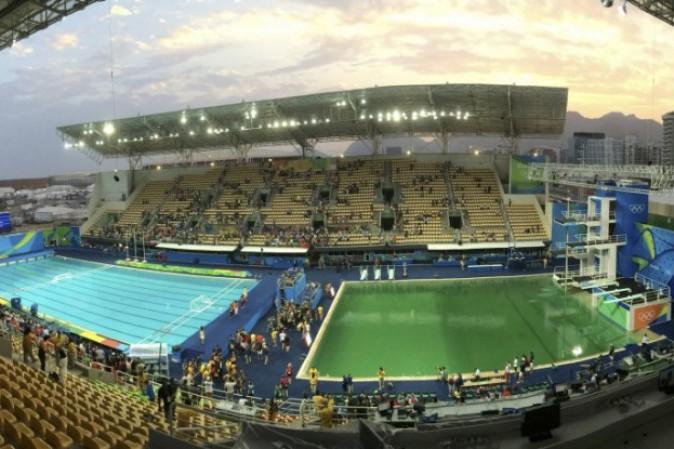 Olimpiadi di rio perch l 39 acqua della piscina dei tuffi - Piscina olimpiadi ...